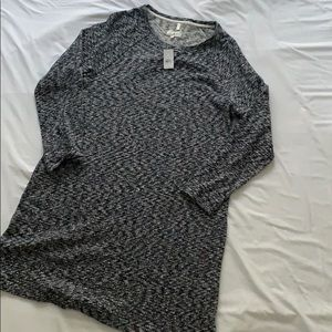 Lou & Grey Marled Sweatshirt dress